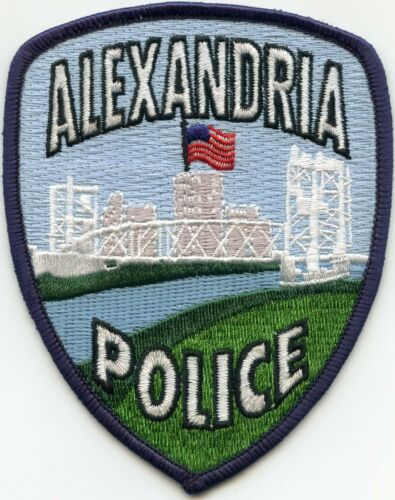 ALEXANDRIA LOUISIANA POLICE PATCH