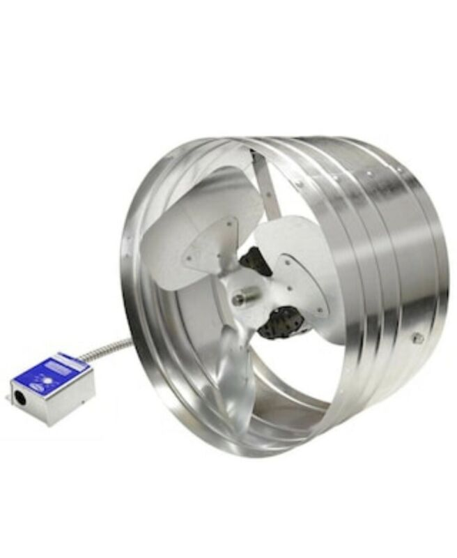 Master Flow Power Attic Vent ‑ EGV5 Gable Mount