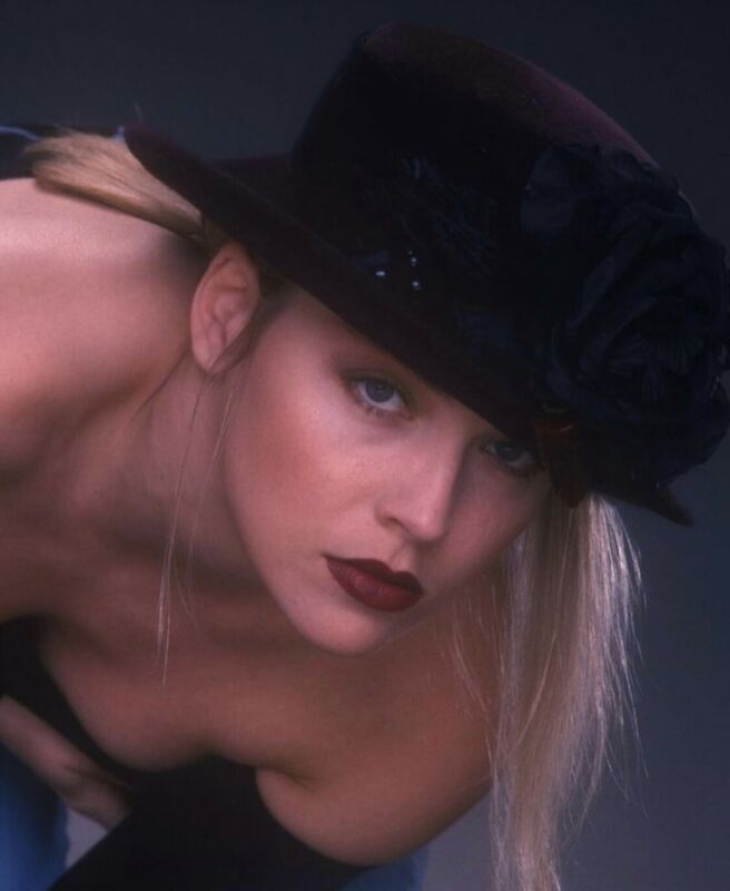 Sharon Stone - Sexy Headshot With A Hat !!!