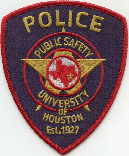 UNIVERSITY OF HOUSTON TEXAS TX PUBLIC SAFETY POLICE PATCH