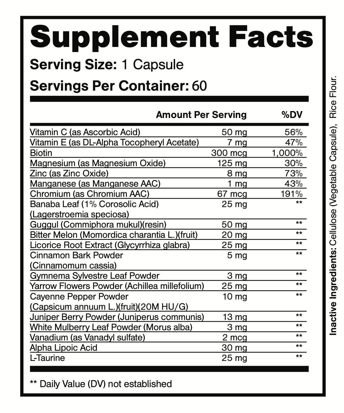 Altai Balance Herbal Supplement Supports Blood Sugar, Glucose Metabolism 60 Cap 3