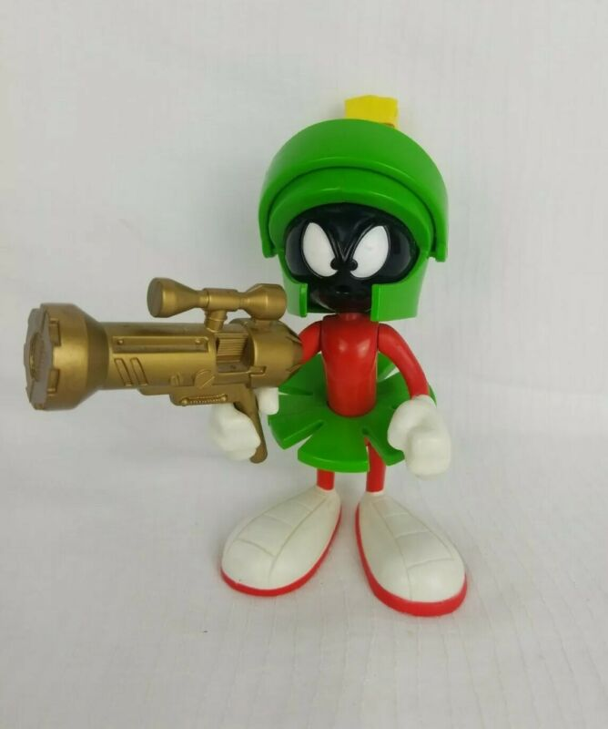 1993 Marvin The Martian Talking Figure by Tyco Working!