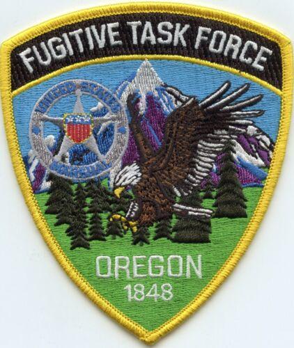 UNITED STATES MARSHAL OREGON FUGITVE TASK FORCE Colorful POLICE PATCH