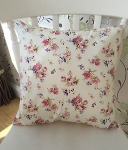 Rose & Hubble Cream Vintage Floral Cushion Cover 16