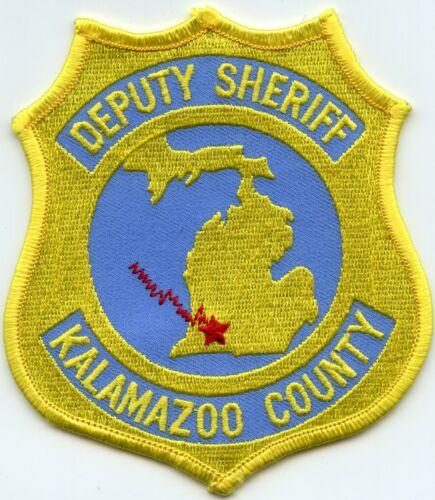 KALAMAZOO COUNTY MICHIGAN MI SHERIFF POLICE PATCH