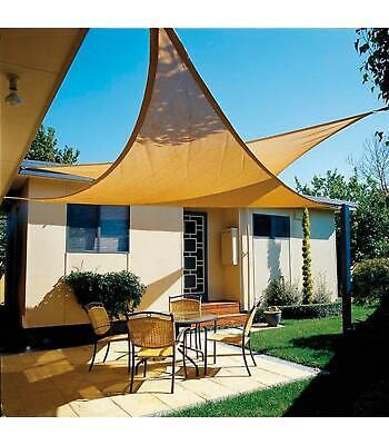 PAPILLON Toldo Vela Sombra Jardin Triangular 3,6x3,6x3,6 Metros Beige