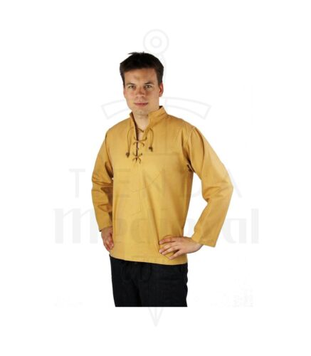 MEDIEVAL Knight Yellow Color Reenactment Tunic
