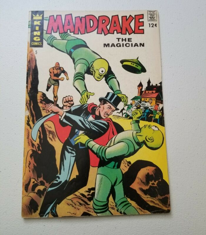 Mandrake the Magician #5 (1967, King)