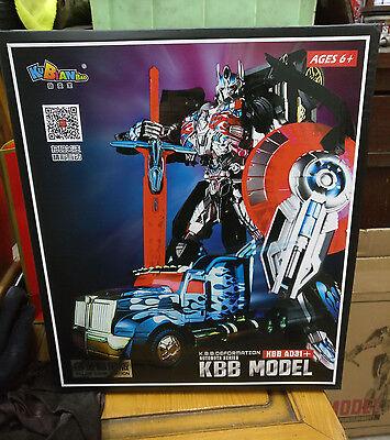 Kubianbao Kbb Deformation Dark Ad31 Optimus Prime Oversize 12  New In Box