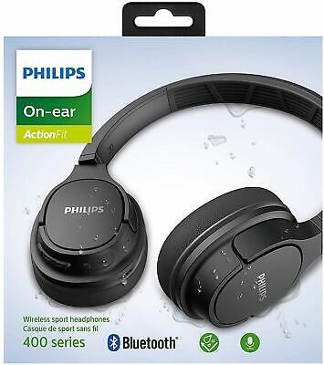 Philips Wireless Bluetooth Headphones with Cooling Earcups, 20+ Hours Playtime
