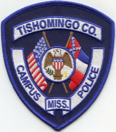 TISHOMINGO COUNTY MISSISSIPPI MS SCHOOL DISTRICT CAMPUS sheriff POLICE PATCH