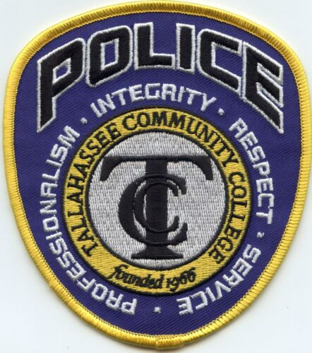TALLAHASSEE COMMUNITY COLLEGE FLORIDA FL CAMPUS POLICE PATCH