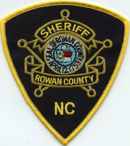 ROWAN COUNTY NORTH CAROLINA NC SHERIFF POLICE PATCH