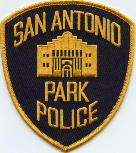 SAN ANTONIO TEXAS TX black background PARK POLICE PATCH