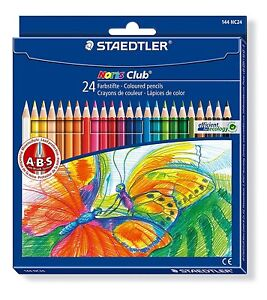 STAEDTLER NORIS CLUB COLOURING PENCILS - Pack of