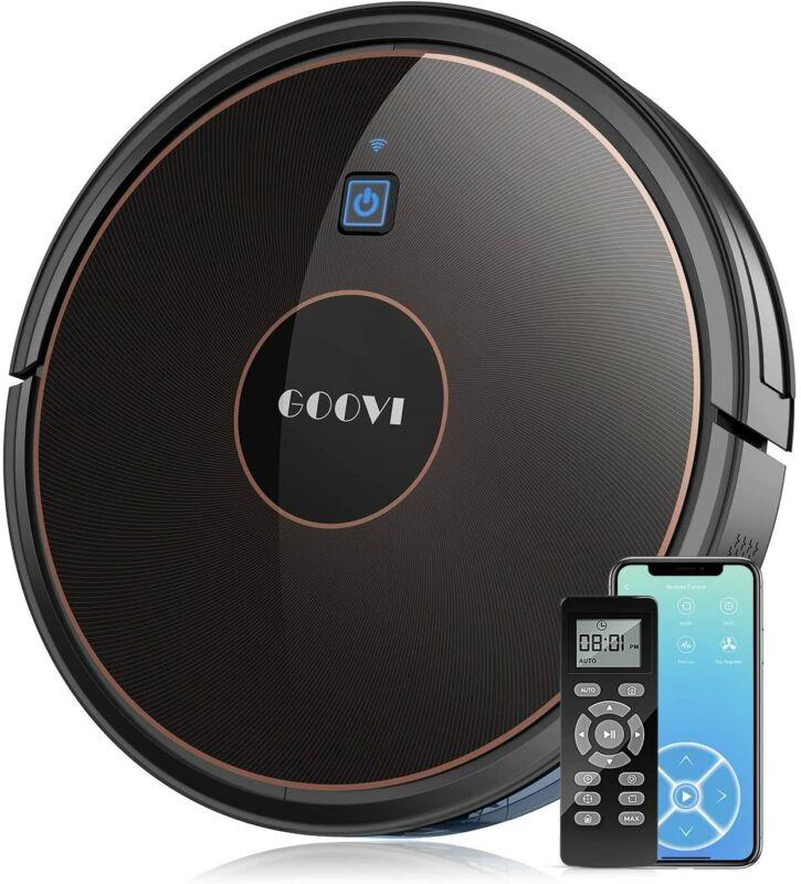 GOOVI D382 Smart Auto Charging Vacuum Cleaner Wifi App Control Rumba Robot USA