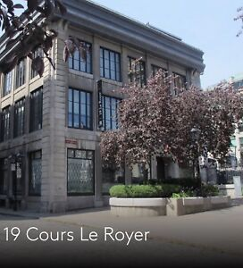 Office in old port Montreal/vieux Montréal (LAST MONTH FREE)