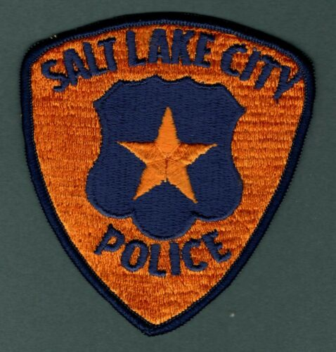 Salt Lake City Utah Police Patch