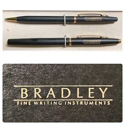 Bradley Fine Writing Instrument GARRET Company Custom Pen and Pencil Set Vintage
