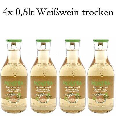 Mostra Griechische Weißwein trocken 4x0,5l Chardonnay, Roditis, Moschato Hamburg