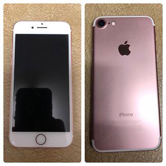 iPhone 7 128gb UNLOCKED, 9 months warranty