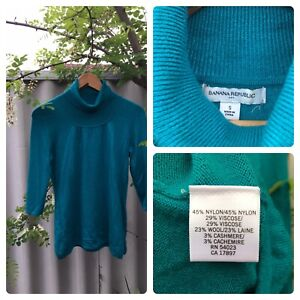 Knit - Teal Turtleneck Maylands Bayswater Area Preview