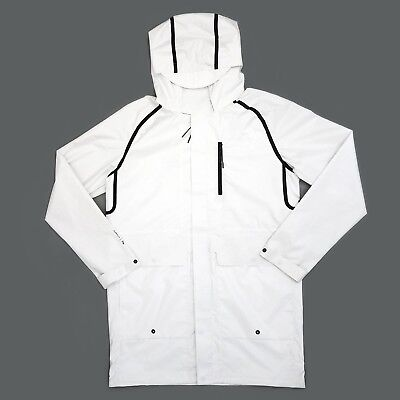 new arrival f3381 9e2ee Puma x Stampd Hooded Jacket White Mens Size Small MSRP  275
