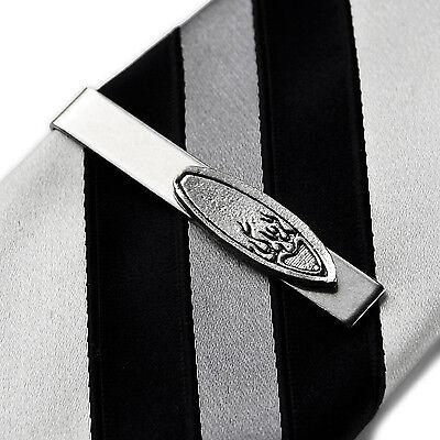 Surfboard Tie Clip