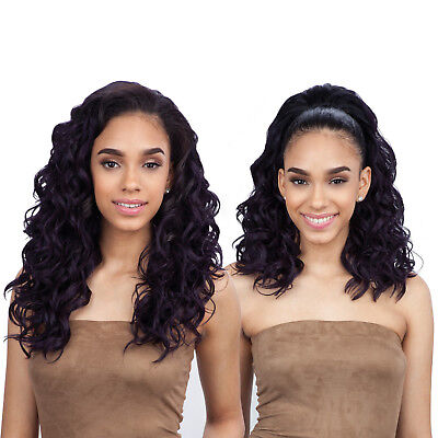 CLASSY GIRL - FREETRESS EQUAL DRAWSTRING FULLCAP SYNTHETIC HALF WIG Freetress Half Wigs