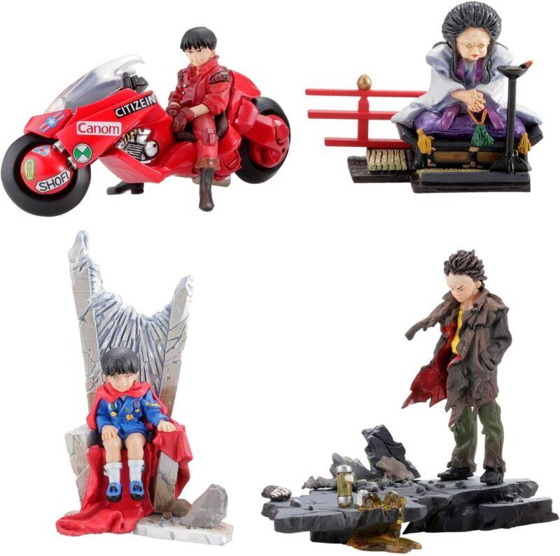 "Kaiyodo miniQ Part.3 Akira ""Akira"" Figure Collection - Set of 6 Blind Box USA"
