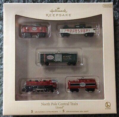 Hallmark Keepsake North Pole Central Train Set Lionel Christmas Ornament