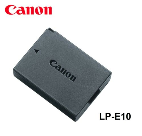 Genuine Original CANON EOS Rebel T3 T5 T6 1100D 1200D 1300D Battery LP-E10