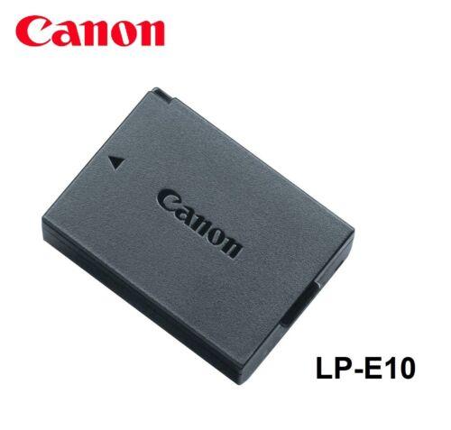 NEW Genuine Original CANON EOS Rebel T3 T5 T6  Battery LP-E10 LC-E10 LPE10