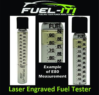 Laser Engraved Fuel Tester for Ethanol and Gasoline w/ LIFETIME WARRANTY!