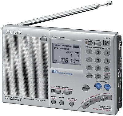 Sony Multi-Band World Receiver Radio ICF-SW7600GR
