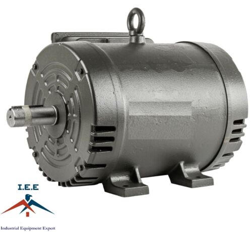 7.5 Hp Electric Motor 3450 RPM 184 T Frame 1 Ph Single Phase 208/230 Volt