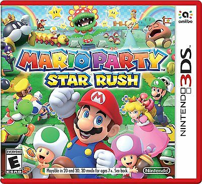 Mario Party Star Rush (Nintendo 3DS) Brand New segunda mano  Embacar hacia Mexico