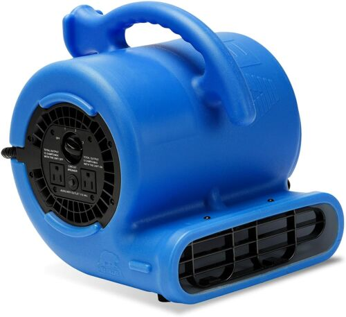 B-Air 1/4 HP Air Mover Blower Fan for Water Damage Restoration Carpet Dryer