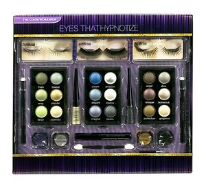 The Color Workshop Eyes That Hypnotise Gift Set MakeUp Cosmetic False Lashes
