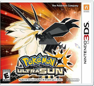 Pok Mon Ultra Sun   Pokemon Ultra Sun Nintendo 3Ds Brand New