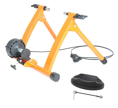 Conquer Pro Indoor Bike Trainer Exercise Machine 5 Speed Var