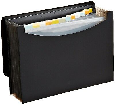 Expanding File Tabs Folder Organizer Document Portable Storage A4 Paper Holder
