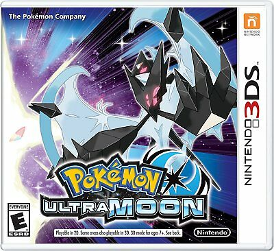 Pokemon Ultra Moon   Nintendo 3Ds In Stock New