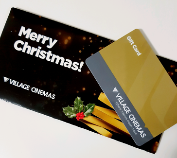 Village Cinima $100 card for just 80
