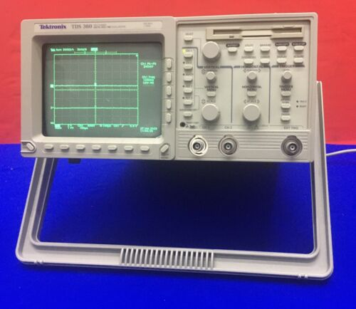 TEKTRONIX TDS 360 / TD360 TWO CHANNEL DIGITAL REAL TIME OSCILLOSCOPE