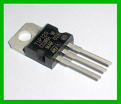 20pcs Transistor Tip120 To-220 Provide Tracking Number