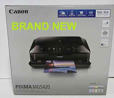 Canon MG5420 All-In-One Inkjet Wireless Photo Printer (BRAND NEW)