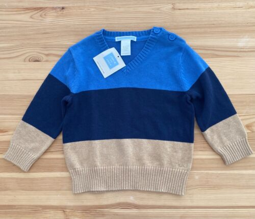 NWT JANIE AND JACK Countryside Classic Boys Pullover Sweater Size 12-18 Months