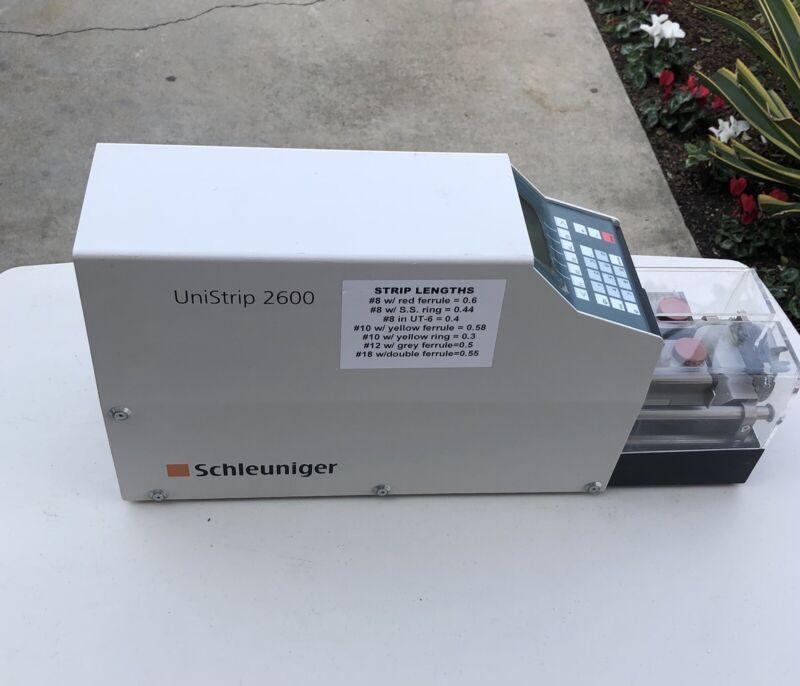 Schleuniger UniStrip 2600 Wire Stripping Machine