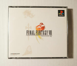 FINAL-FANTASY-VIII-8-JAPAN-IMPORT-PSX-PS1-PS-Sony-Playstation-VERY-GOOD